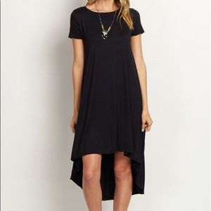 Forever 21 black high low dress